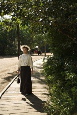 Woman In Period Costume
