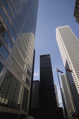 """Картина, постер, плакат, фотообои """"tall buildings"""", артикул 31719861"""