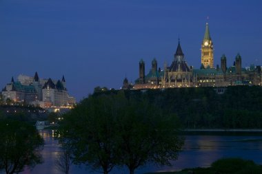 Parliament Hill From Ottawa River
