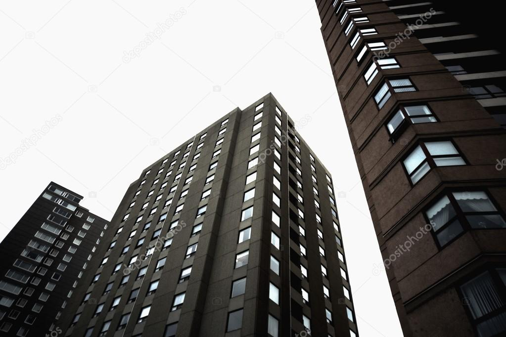 Low Angle Of Apartment Buildings