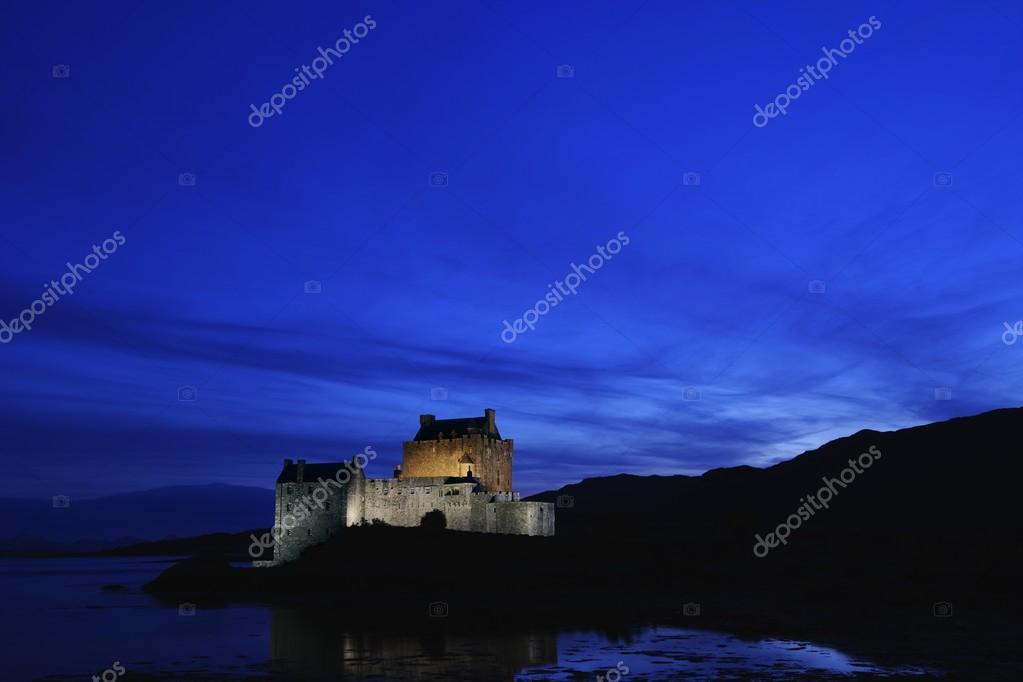 Eilean Donan Castle At Night