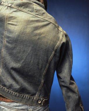 Jean Jacket stock vector