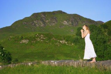 Praying In The Mountains