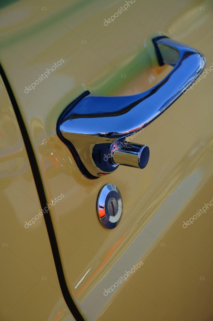 Door Handle Of A Vehicle stock vector
