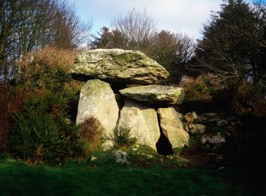 Knockeen Dolmen, Tramore, Co Waterford, Ireland