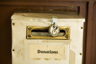 Donation Box With Lock