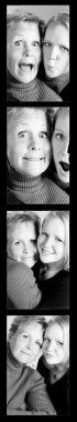 Montage Of Two Women