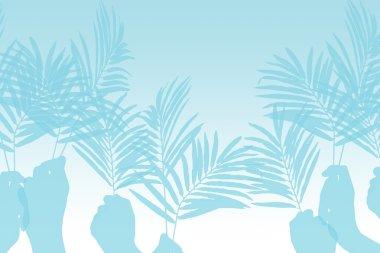 Palm Sunday Illustration