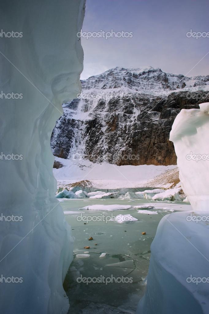 Angel Glacier, Mount Edith Cavell, Jasper National Park, Alberta, Canada