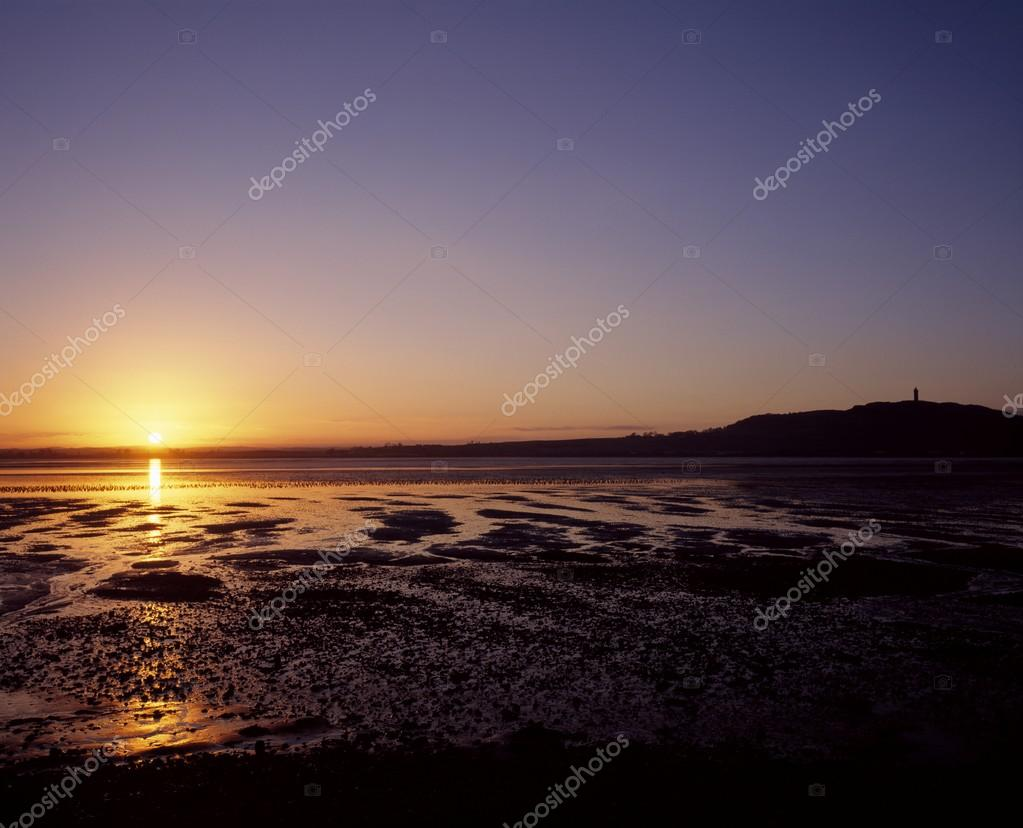 Sunset Over Newtonards, Strangford Lough, Co Down, Ireland