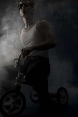 Man On A Tricycle