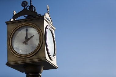 Old-Fashioned Outdoor Clock