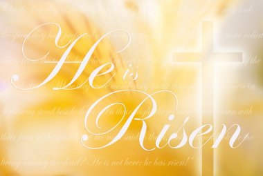 He Is Risen Computer Generated Image