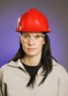 Woman In Trades