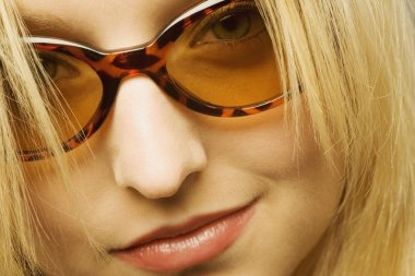 Close Up Of Woman With Sunglasses