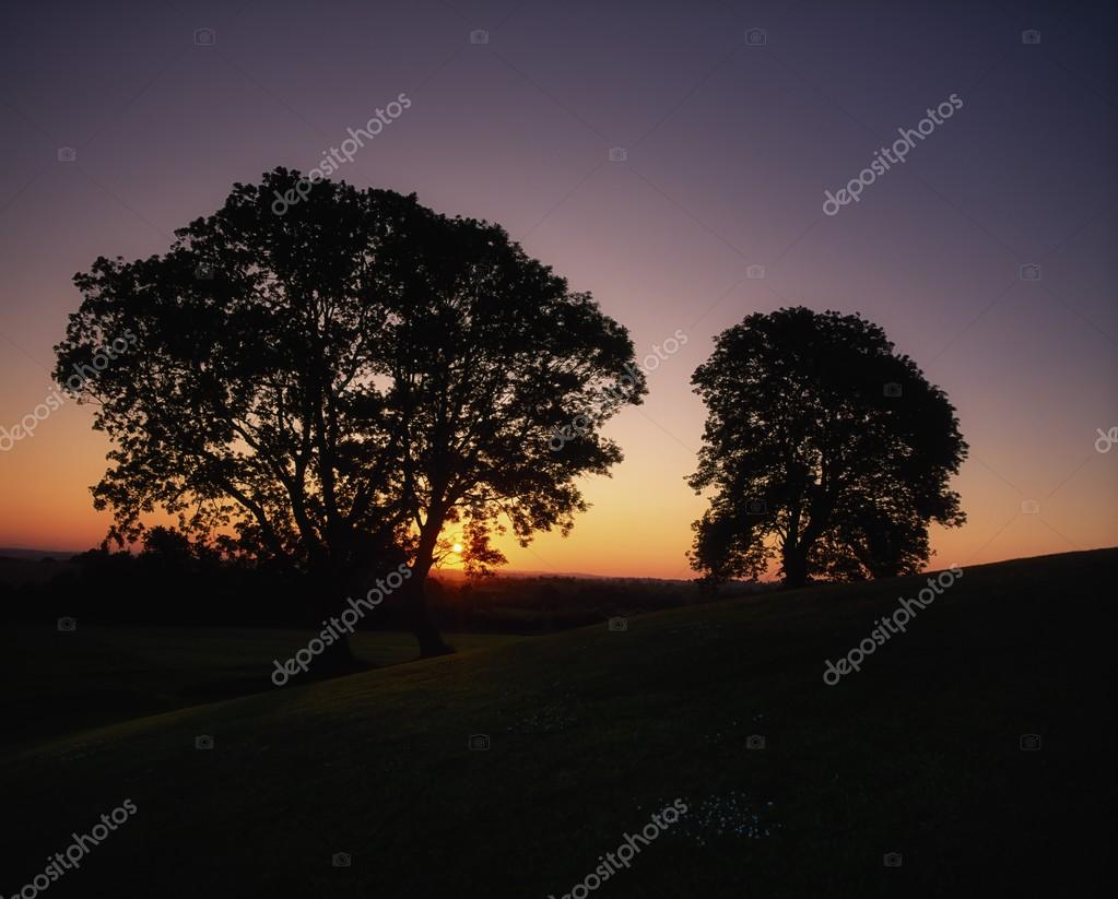 Sunset At Navan Fort, Co Armagh, Ireland