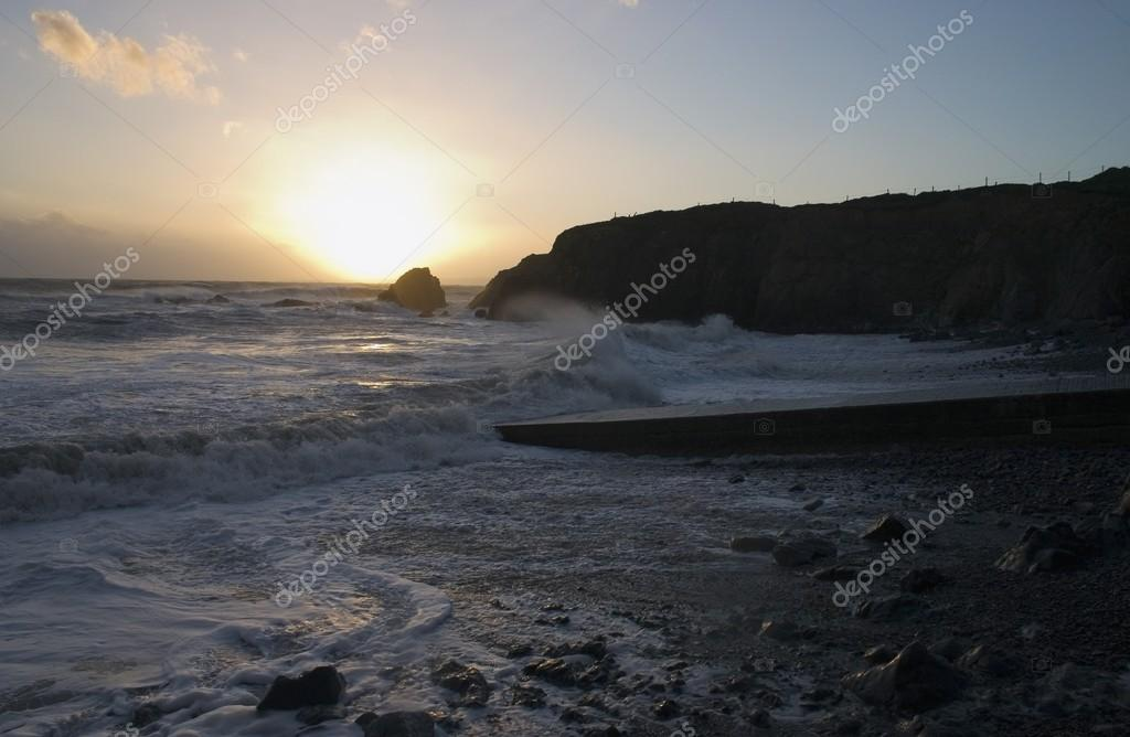 Stormy Seas, Knockmahon, Copper Coast, Co Waterford, Ireland