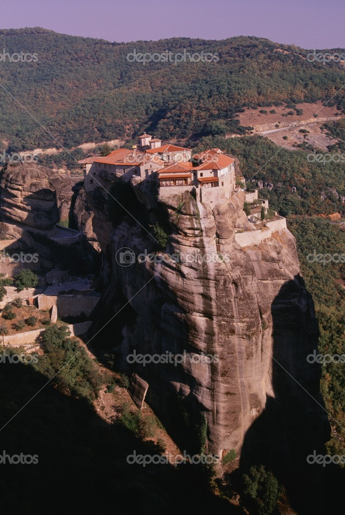 The Monastery Of Holy Trinity, Metéora, Thessaly, Greece