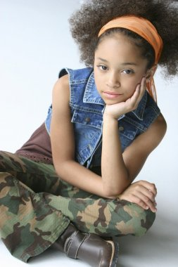 Young Girl In Urban Outfit