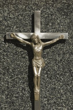 Crucifix On Grave