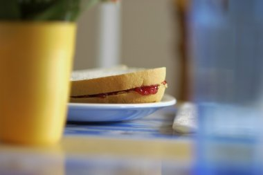 Peanut Butter And Jam Sandwich