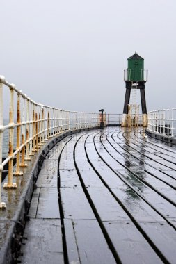 Whitby, North Yorkshire, England, Pier