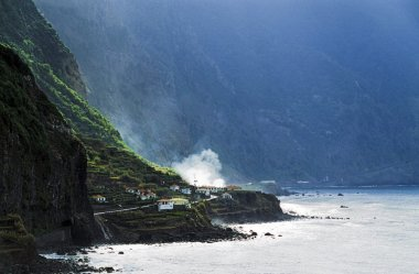 The Atlantic Ocean In Madeira, Portugal