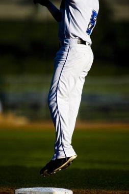 Baseball Player Jumping