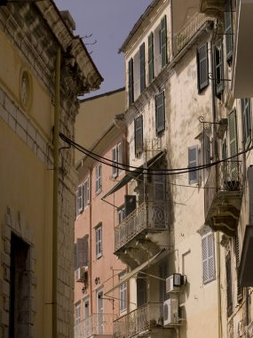 Apartment Buildings, Corfu, Greece