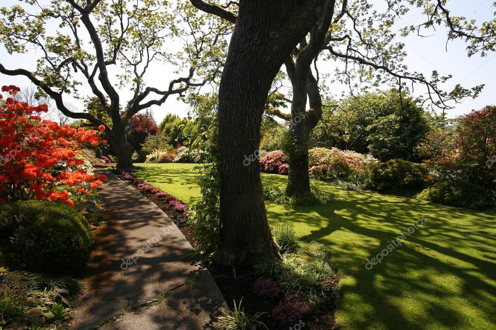 Abkhazi Gardens In Victoria, British Columbia, Canada