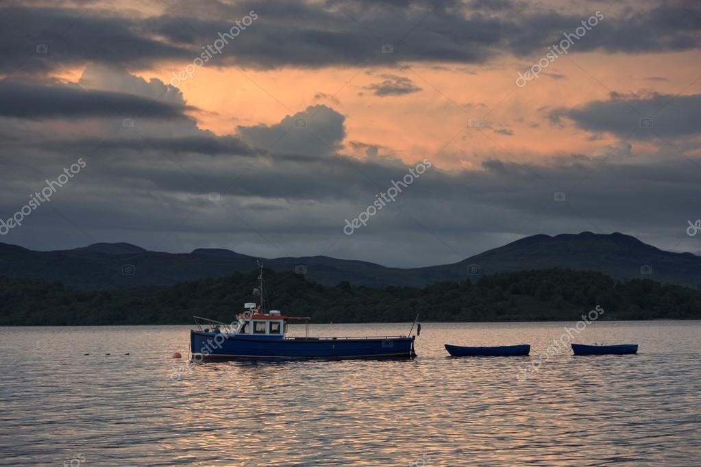Tugboat In The Water, Scotland