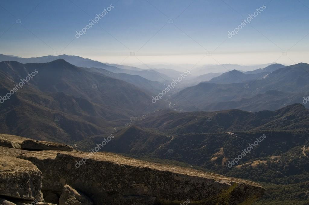 Foothills of the Sierra-Nevada mountains