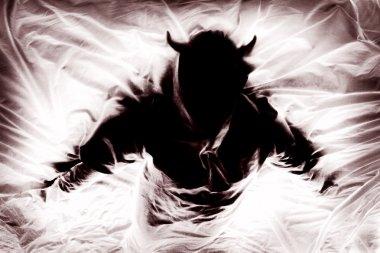 Silhouette Of Figure Representing Evil