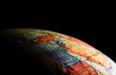 Globe, Close-Up