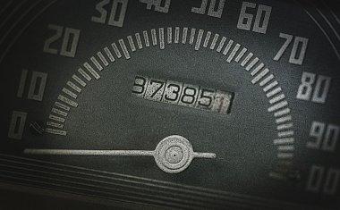 Old Speedometer