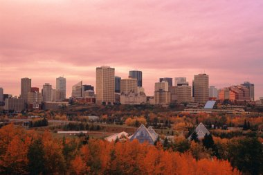 View at the Edmonton Downtown
