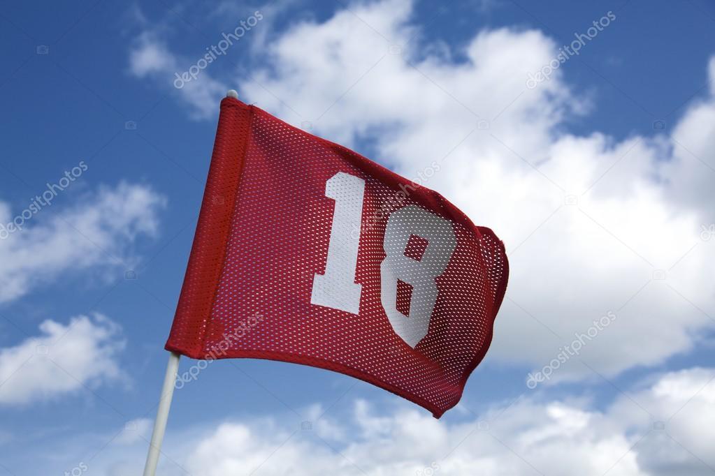 Number Eighteen Flag