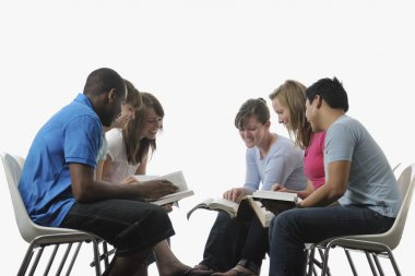 Diverse Group Of Young Adult Christians