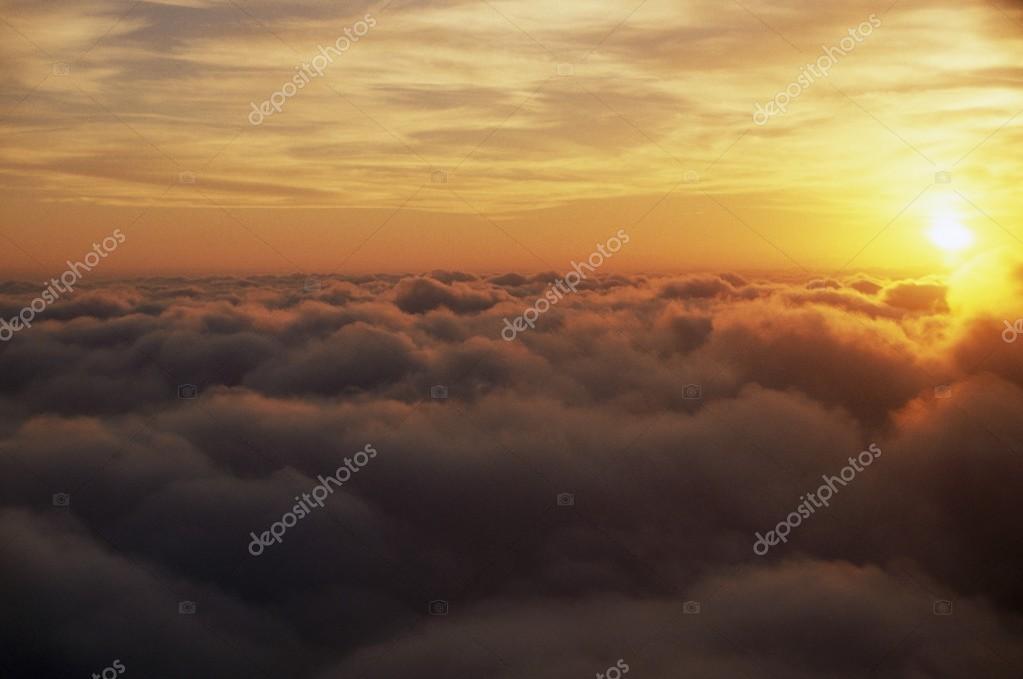 Sunrise Above Clouds