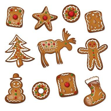 Christmas, gingerbread, cookies