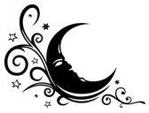 Fényképek Hold, a csillagok, a törzsi