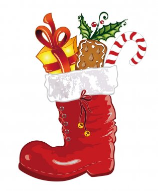 Christmas, boots, sweets