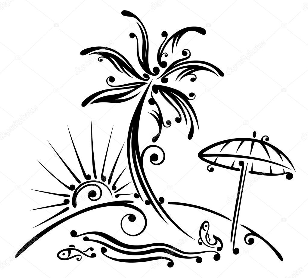Bildergebnis für urlaub sonne strand palme