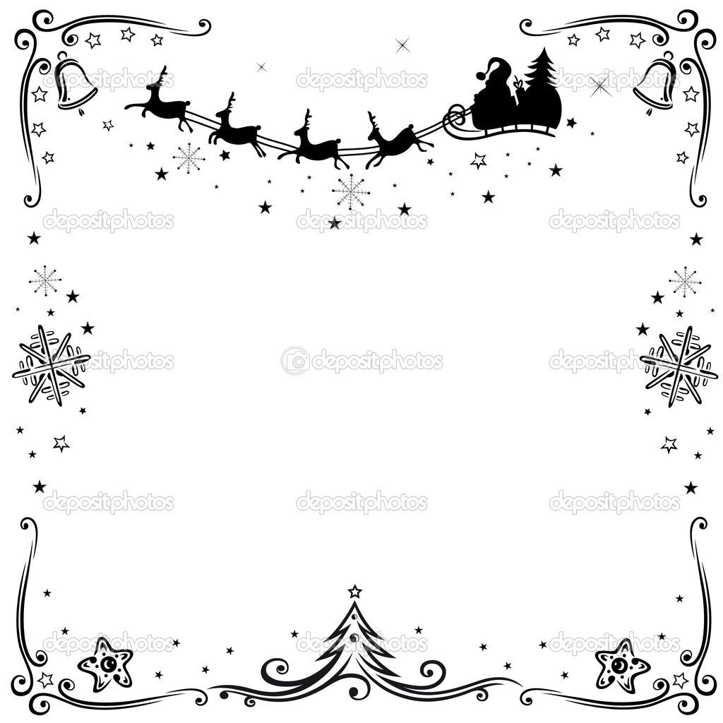 Santa claus, reindeer — Stock Vector © christine_krahl #34370881