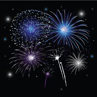 Sylvester, fireworks