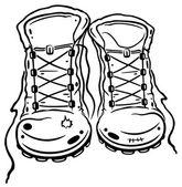 Fotografia scarpe da trekking