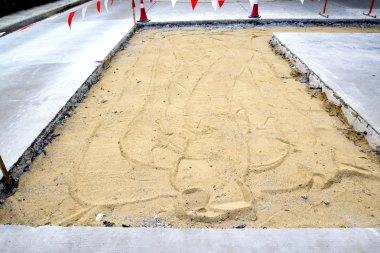 Road under repair