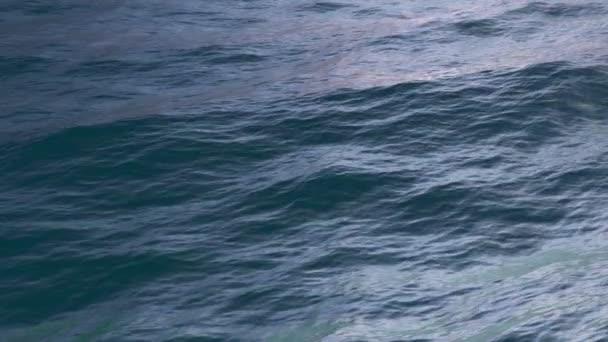 koloval mořské hladiny s statické kamery