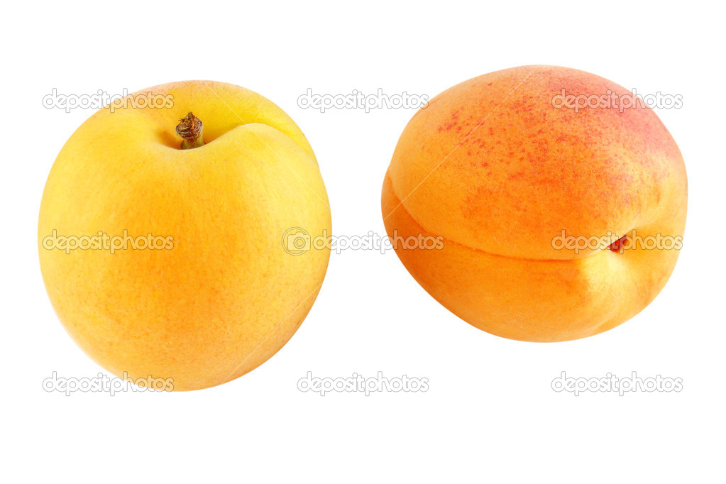 Two ripe apricots - optional