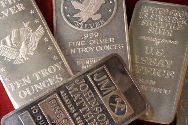 10 Troy Ounce Silver Bullion Bars
